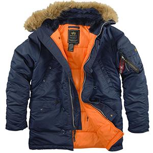 Мужская и женская куртка аляска